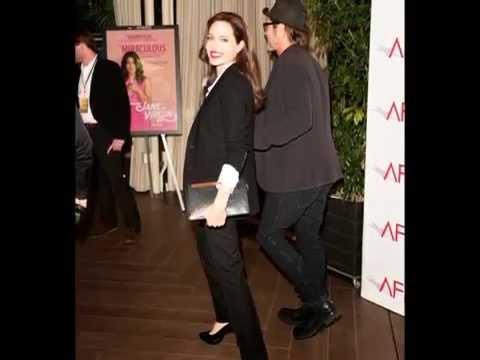 Angelina Jolie e Brad Pitt participaram da cerimônia da AFI Awards.