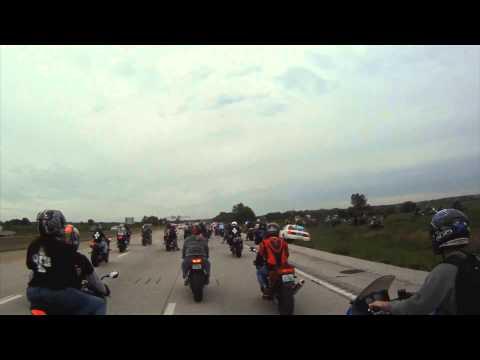 Ride of the Century - Ucieczka motocyklistów z blokady policyjnej