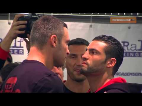 Heavyweight Champion Manuel Omeirat Charr vs  Vitali Klitschko