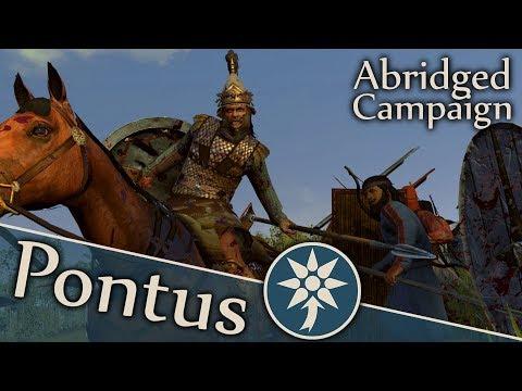 Divide Et Impera: Pontus #1   Total War Rome 2 Abridged Campaign Commentary