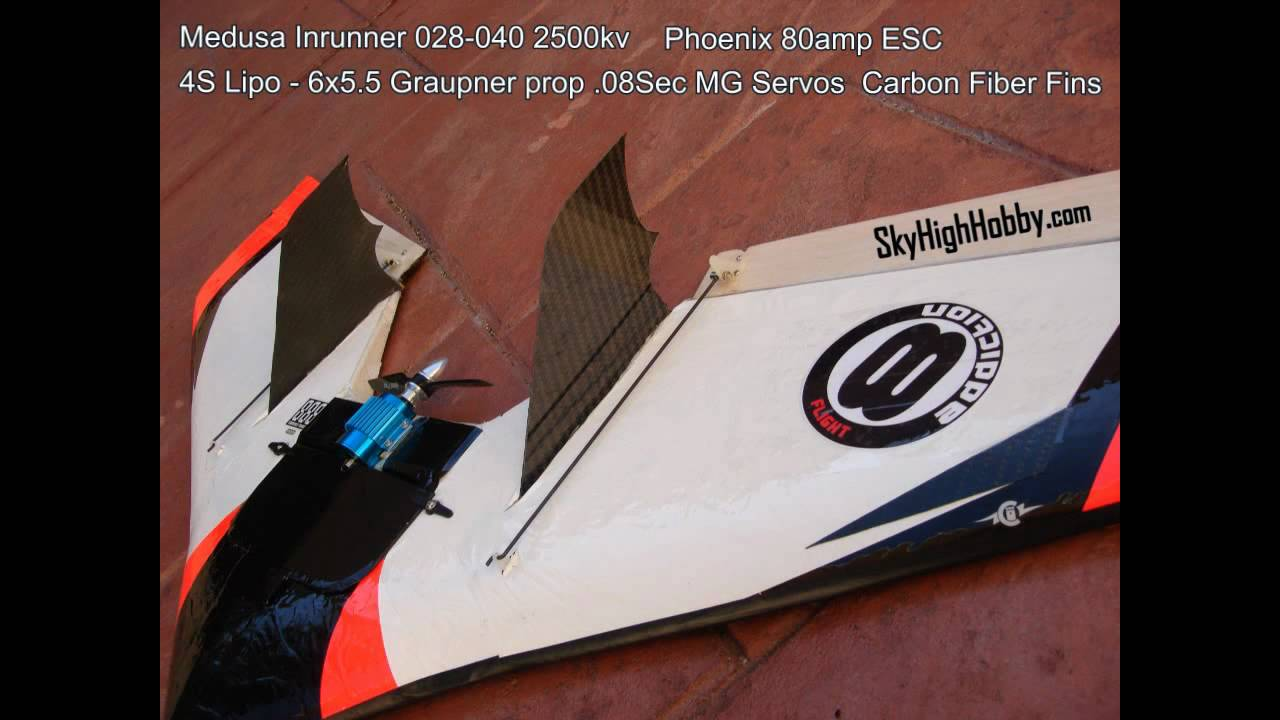flying wing rc