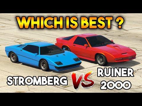 GTA 5 ONLINE : STROMBERG VS RUINER 2000 (WHICH IS BEST?)