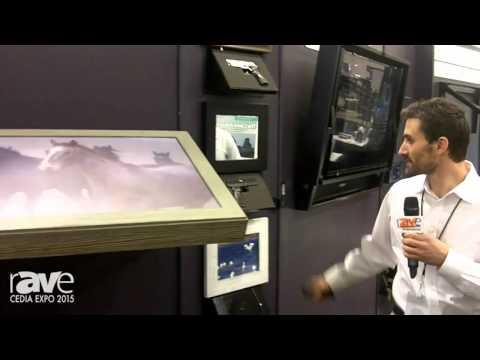 CEDIA 2015: Hidden Vision TV Mounts Shows FlipAround Model, Can Hide TVs, iPads, Firearms