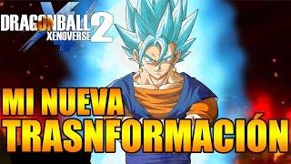 Dragon Ball Xenoverse 2 MI NUEVA TRANSFORMACIÓN SUPER SAIYAN BLUE PARA AVATAR