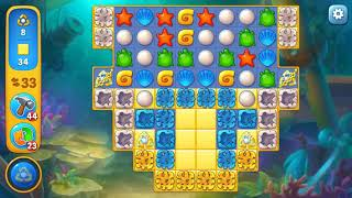 Fishdom level 1298 Gameplay (iOS Android)