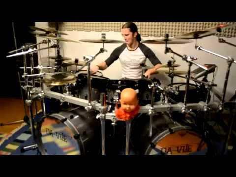 Nile - Cast Down The Heretic Drum Cover