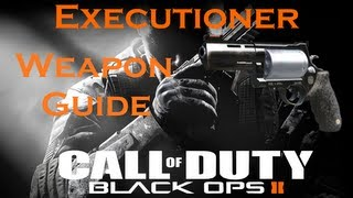 Executioner Pistol Best Class Setup, Call of Duty Black Ops 2 Weapon Guide (Best Game Strategies)