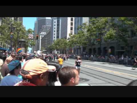 Gay Pride Parade 2009 in San Francisco / SF Gay Pride Parade part 13 ( HD ...