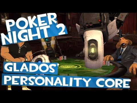 Poker Night 2 - Unlocking GLaDOS' Personality Core (TF2&BL2 Unlocks)
