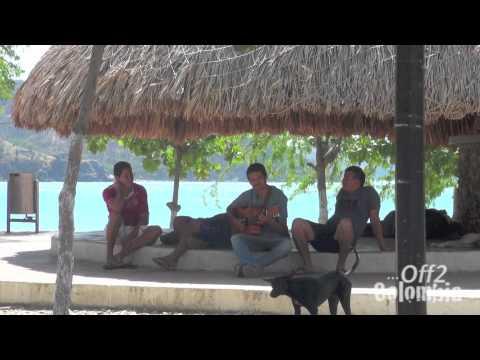 Taganga Colombia - Paradise beach near Santa Marta