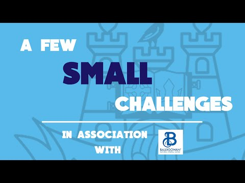A Few Small Challenges- Week 2