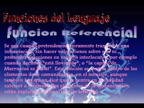 Funciones Del Lenguaje. funciones del lenguaje
