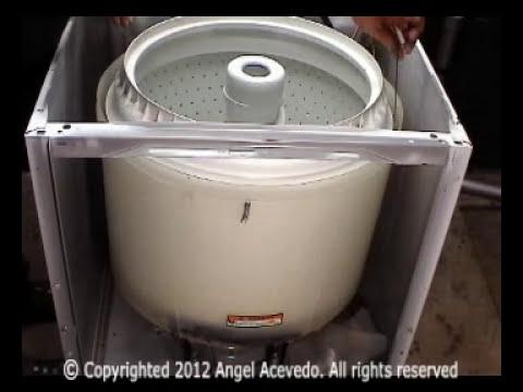 No bota el agua lavadora Performa