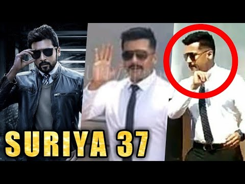 Suriya's New Stunning Look for KV Anand Movie | Suriya, Mohanlal | Sayyesha | Suriya 37 | Arya