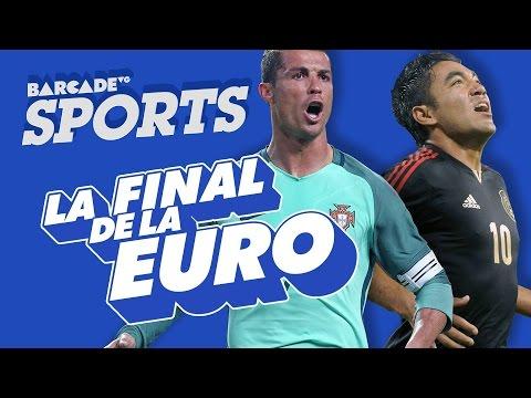 La final de la EURO 2016 | BarcadeVG Sports