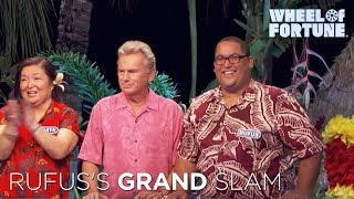Wheel of Fortune: Rufus's Grand Slam Solve