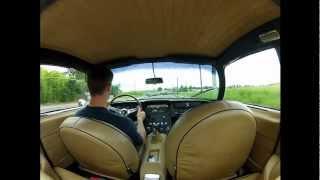 Driving a Lamborghini 400GT 2+2