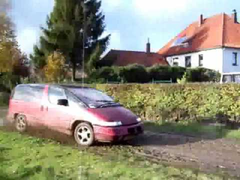 Playing in the Mud - Pontiac Transsport Video