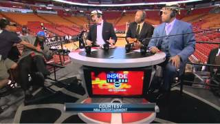 Shaq falls off chair  Inside the NBA
