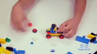 Lego Vintage Car | Building Blocks | Kid's Crafts and Activities | Happykids DIY