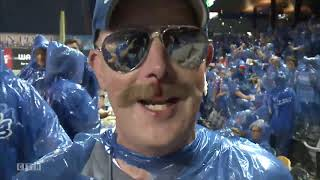 Food fight at St. Paul Saints game Tuesday