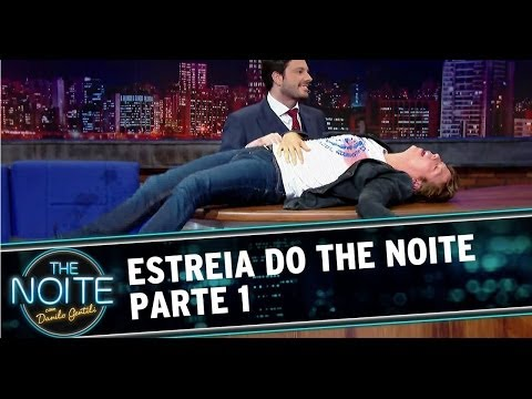 Estreia do The Noite Com Danilo Gentili HD: Parte 1