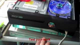 How To Install Custom Fan In xbox 360 slim.Temperature tests (HD) the way this mod should be done!