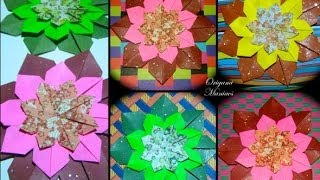 Origami Maniacs 130: Mandala To Decorate the Card/Mandala Para Decorar La Tarjeta