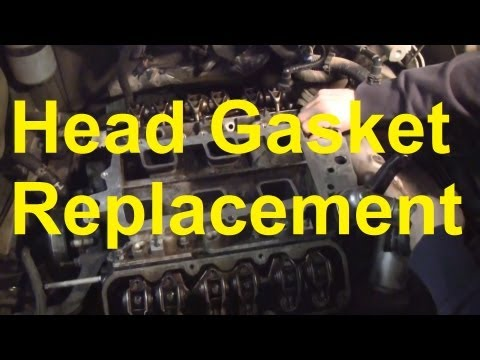 How To Replace The Head Gasket and Intake Manifold Gaskets On A GM 3800 Engine