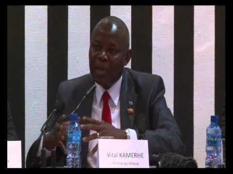 Vital KAMERHE fait l'évaluation des 15 ans de la Monusco en RDC