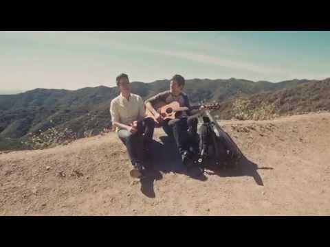 Fourfive Seconds (rihanna) - Sam Tsui & Kurt Schneider Acoustic Cover video