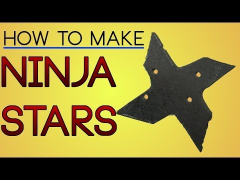 How to Make Metal Ninja Stars (Shuriken)