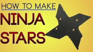 How to Make Metal Ninja Stars