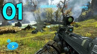 Halo Reach - Part 1 - The Beginning (PC Gameplay)