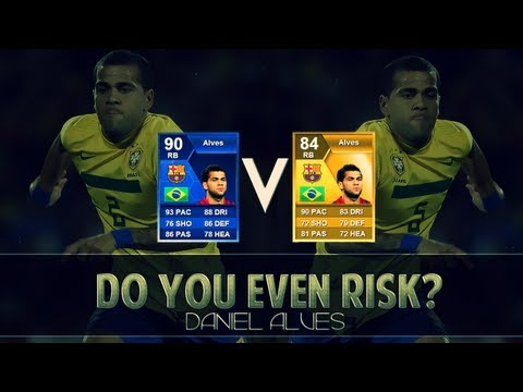 FIFA 13 Ultimate Team TOTY Dani Alves - Do you even Risk? - Player Review