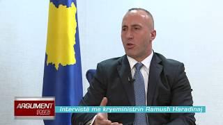 Argument Plus  Interviste Me Kryeministrin E Kosoves Ramush Haradinaj 05 01 2018