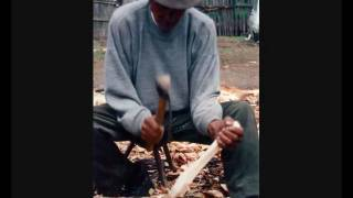 Spoon Making in Romania, Stuart King