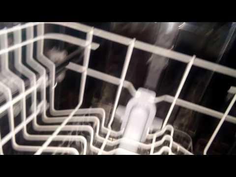 Белый налёт в посудомойке - как устранить своими руками