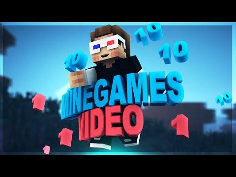 Minecraft'ta 10 MİNİGAME 1 VİDEO!