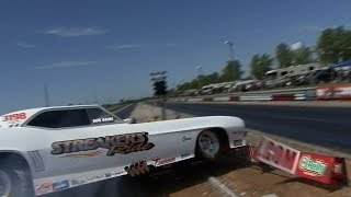 BURNOUT Goes WRONG FAST - Funny Car Chaos - MoKan
