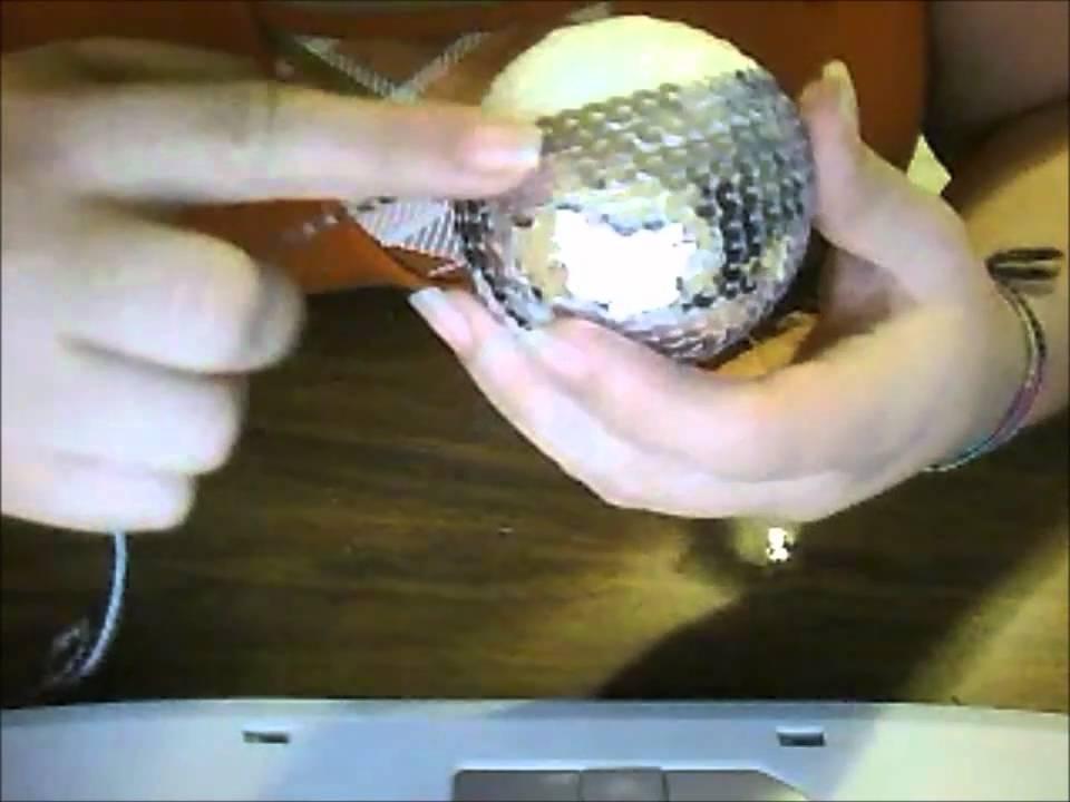 Idea de esferas para el arbol de navidad youtube - Arboles de navidad artesanales ...