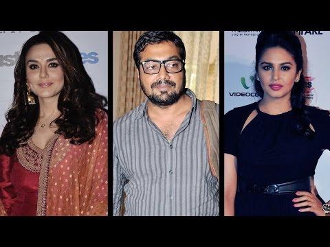 Preity Zinta, Huma Qureshi, Anurag Kashyap At MAMI Festival