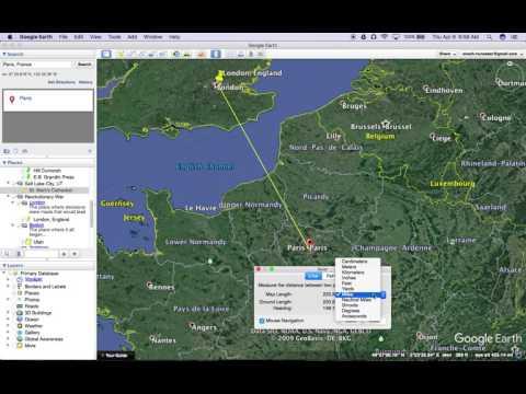Google Earth Tutorials  Ruler Tool