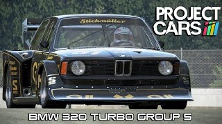 Project CARS: bmw 320 Turbo Group 5 Gameplay (GTX550ti )
