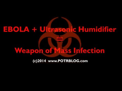 Max Alert! EBOLA Bodily Fluids Readily Airborne Weaponizable