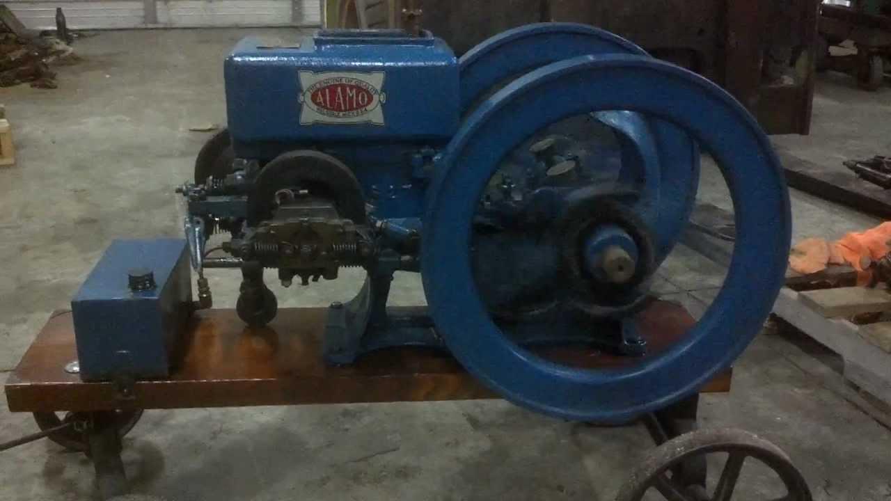 1 1 2 hp alamo hit miss gas engine hd youtube for 1 2 hp motor