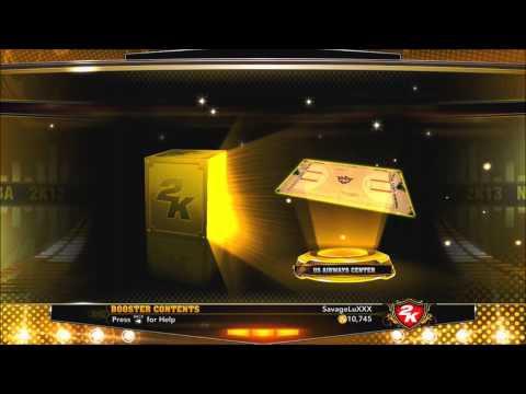 NBA 2k13 My Team - 30,000 VC Pack Opening | I Get ANOTHER Gold Legend | Road to the #1 Seed