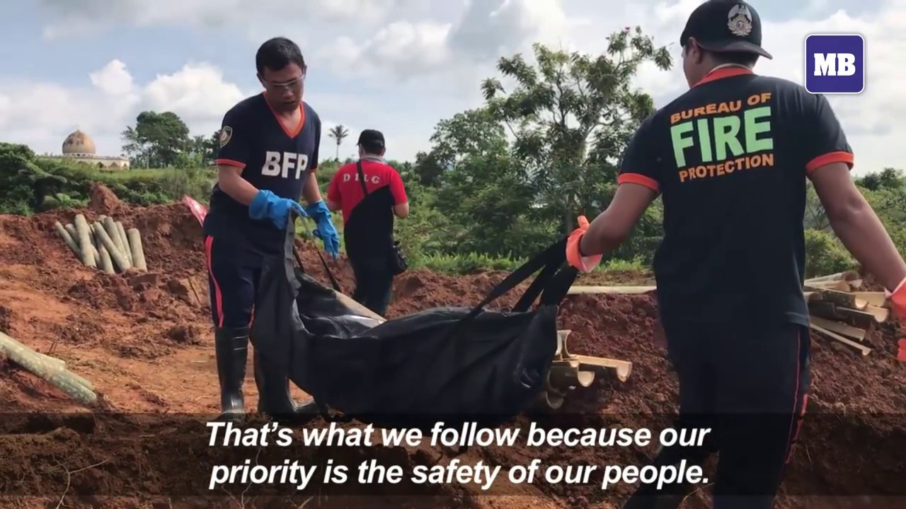 Funerals take place for Marawi dead