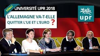 L'Allemagne va-t-elle quitter l'UE et l'euro ? Husson - Delaume - Cayla - Brousseau - Mollier
