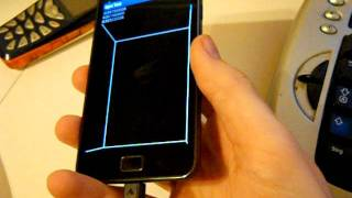 Samsung Galaxy S II - 3D effect using gyroscope
